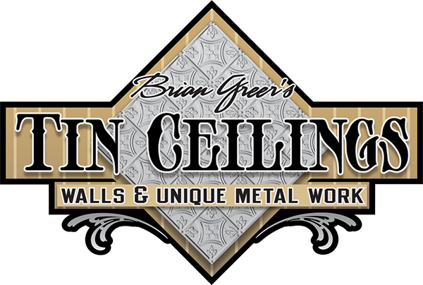 Brian Greer's tin ceilings Logo