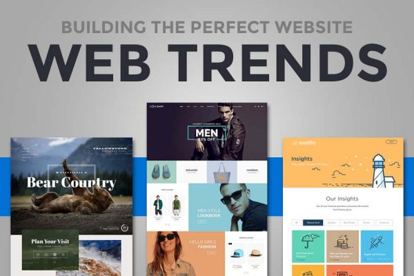 2016 trends in web design - building the perfect website