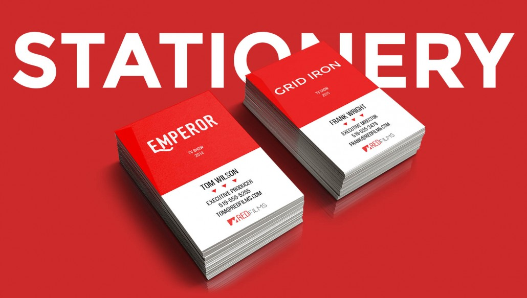 unique stationery business card design 1